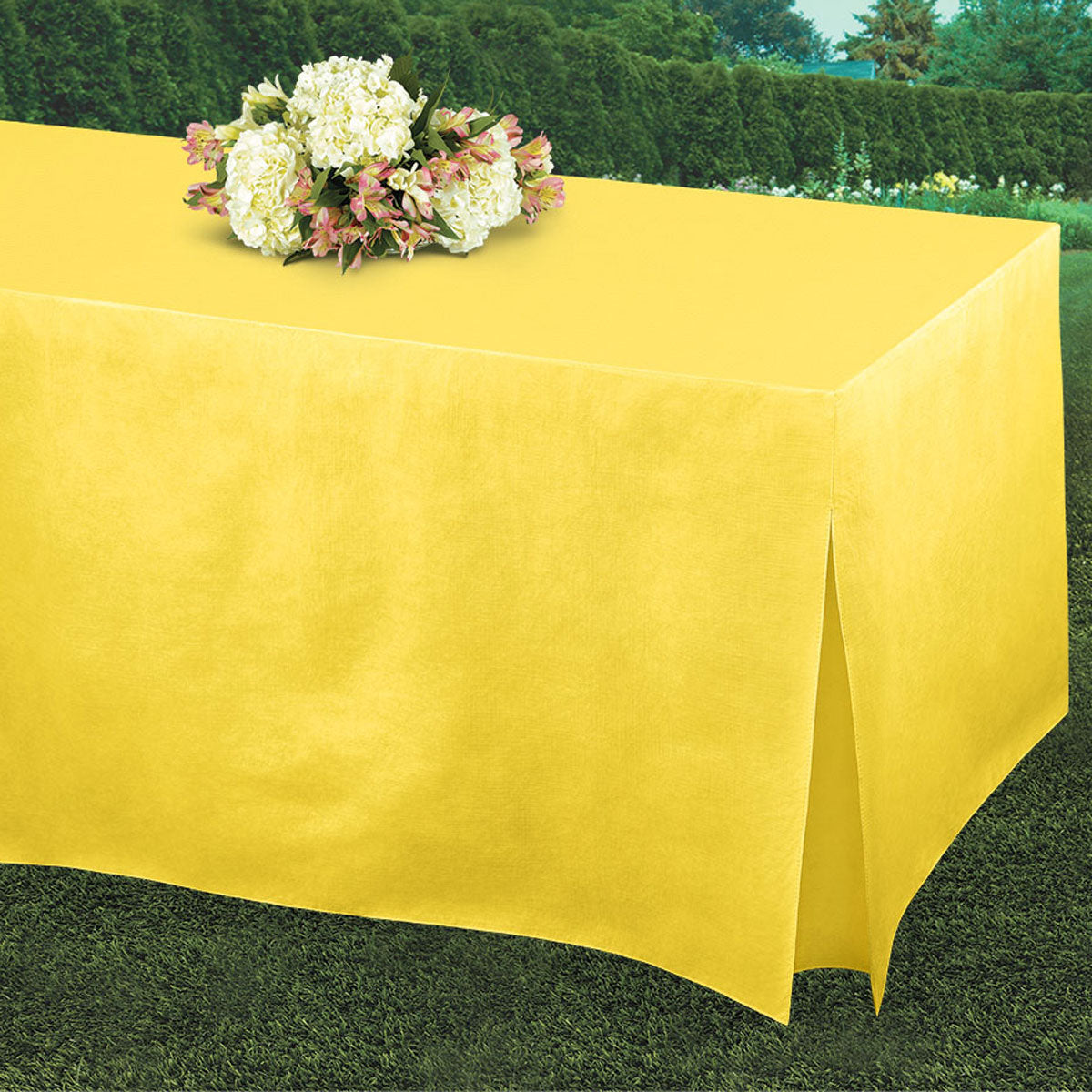 Yellow Tablefitters Table Cover