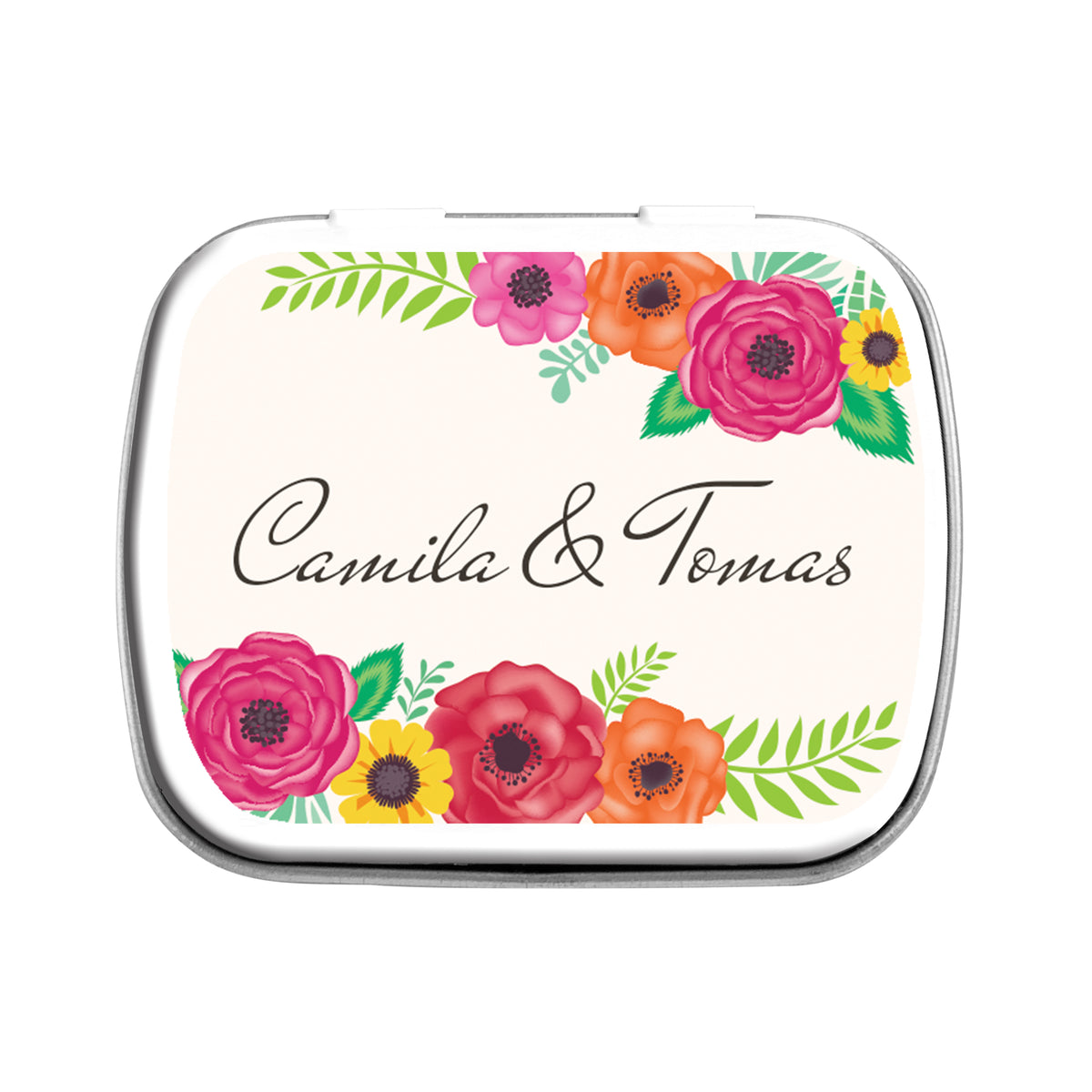 Forever Fiesta Personalized Mint Tin