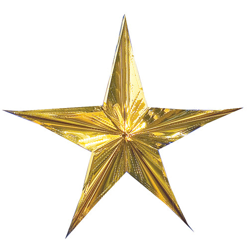Gold Sparkling Hanging Star