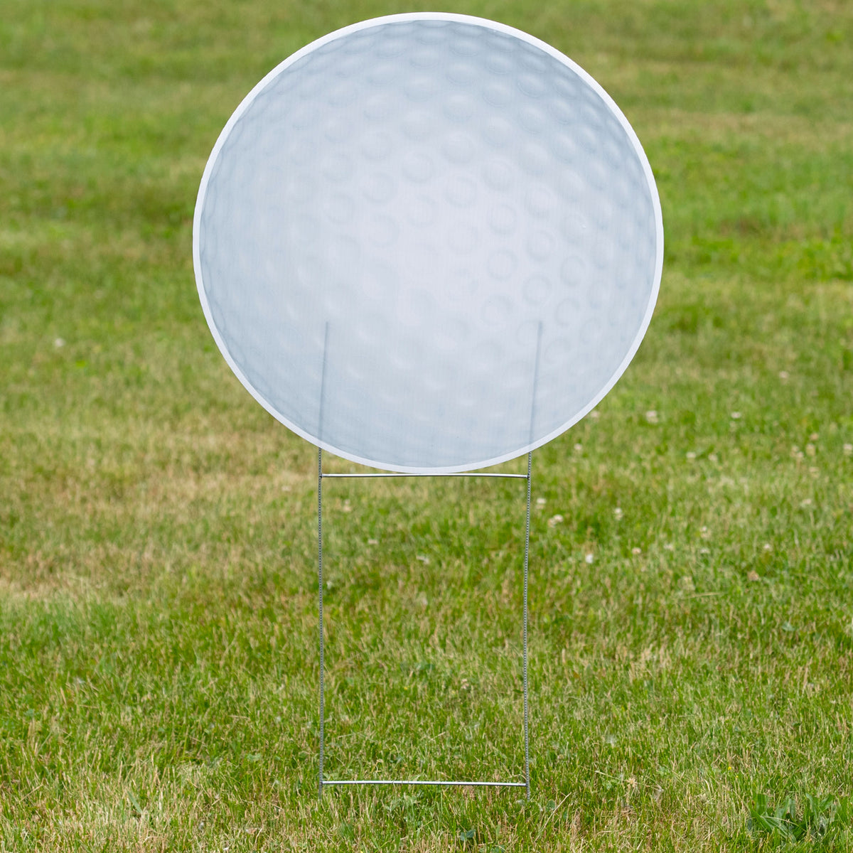 1 ft. 10 in. Golf Ball Yard Sign Expression Icon