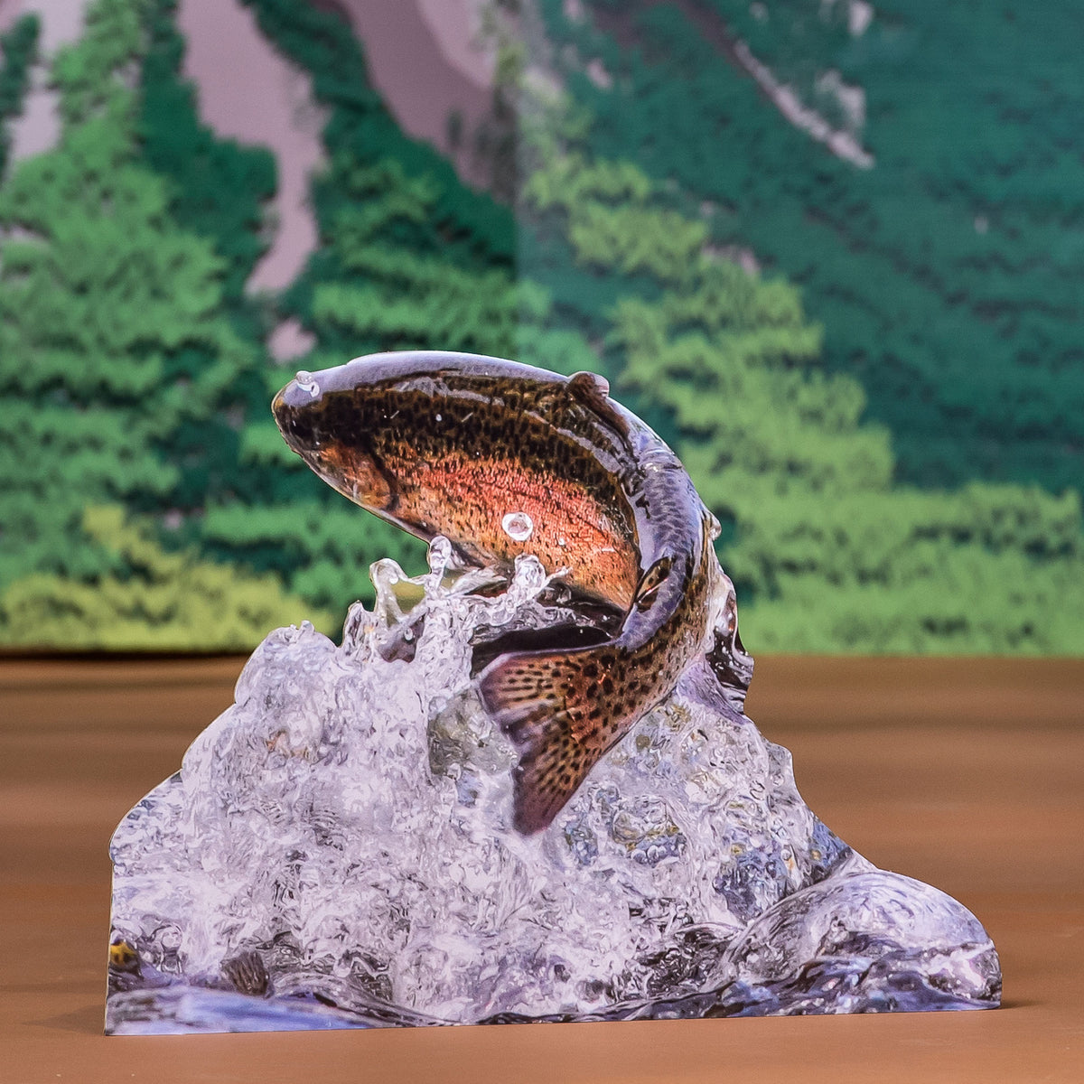 1 ft. 6 in. Trout Fish Standee
