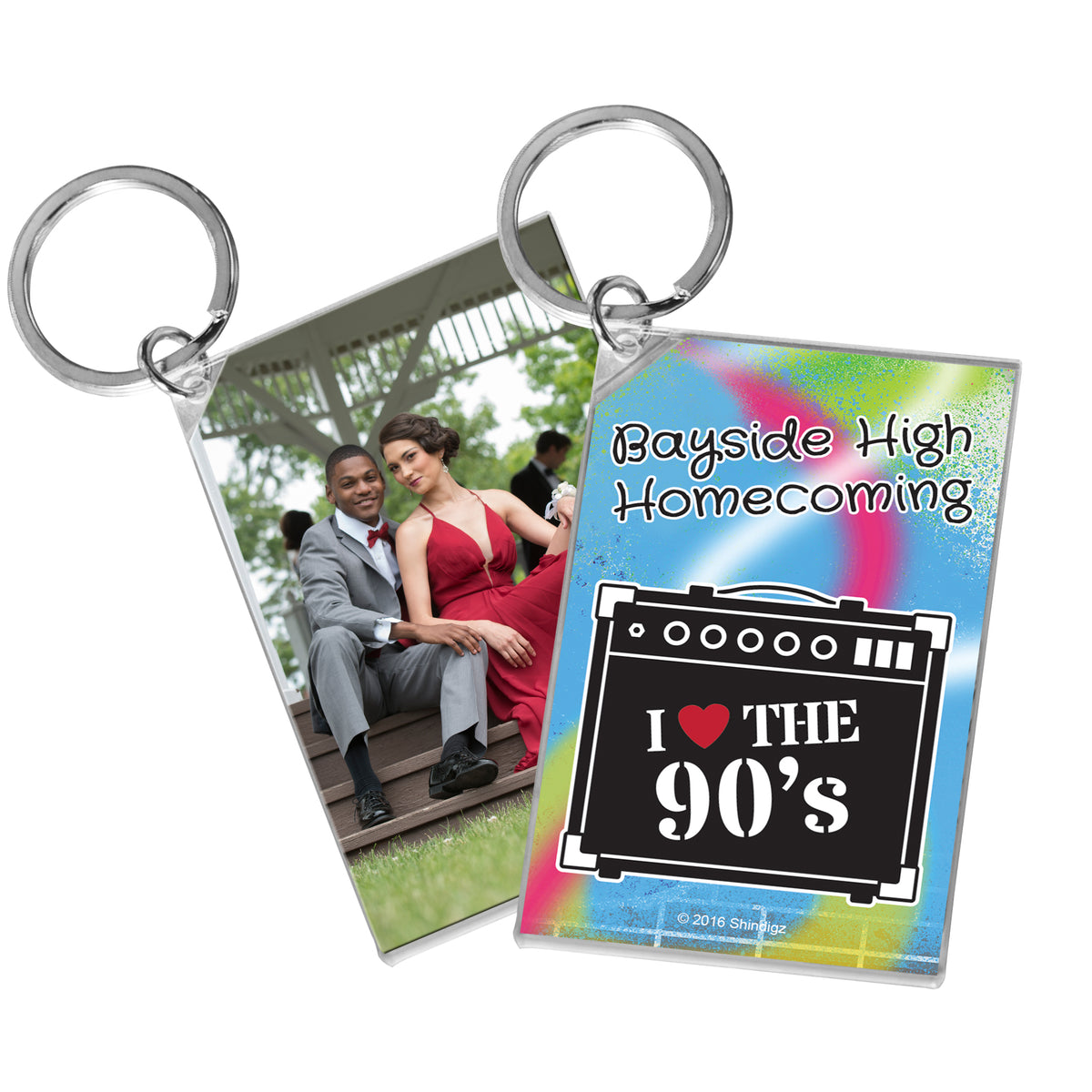 Totally 90's Personalized Acrylic Key Chain