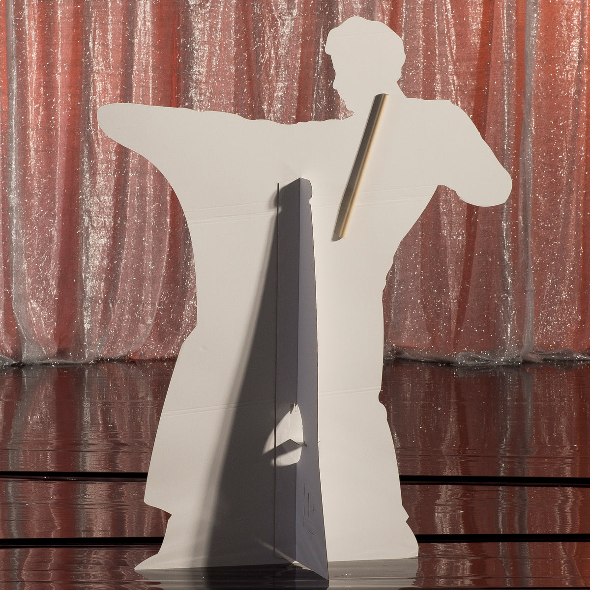 5 ft. 7 in. Studio 21 Silhouette Standee 1
