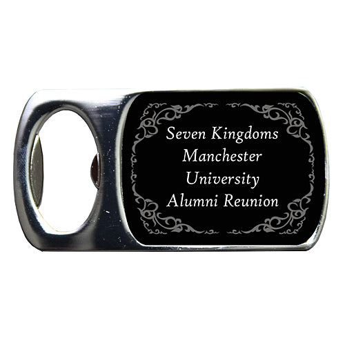 Seven Kingdoms Custom Bottle Opener