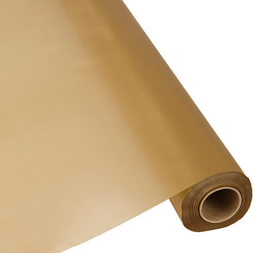 Gold Plastic Table Roll