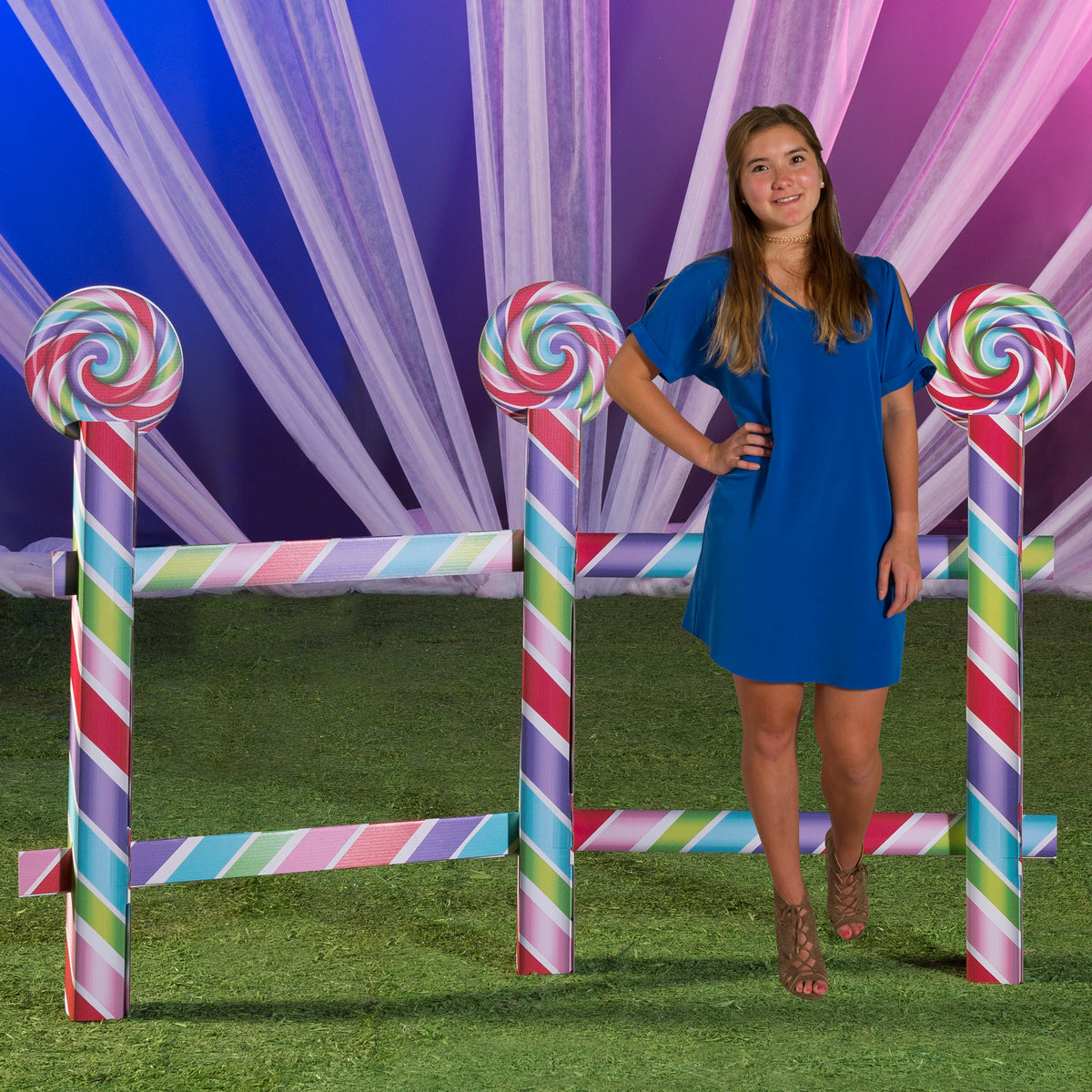 4 ft. 8 in. Sugar Rush Candy Fence