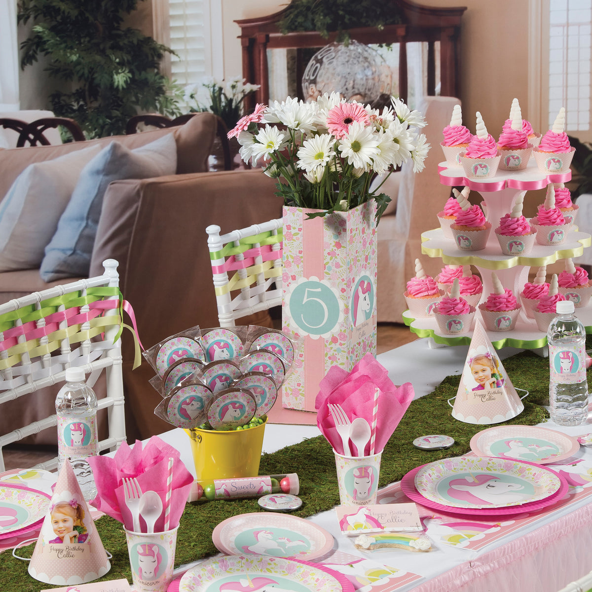 Eighties Personalized Centerpiece
