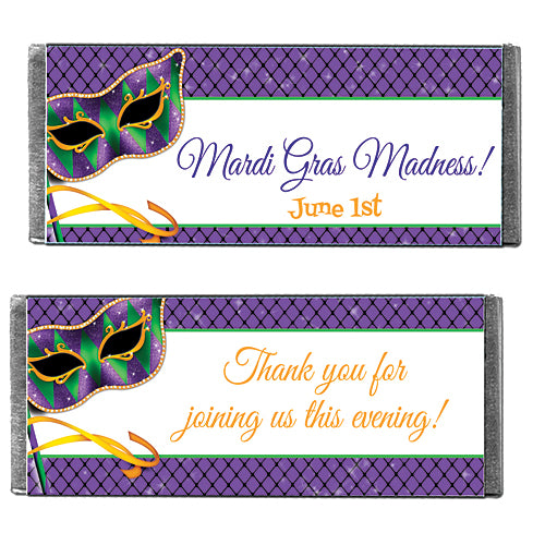 Hershey's Chocolate Masquerade Memories Personalized Candy Bars