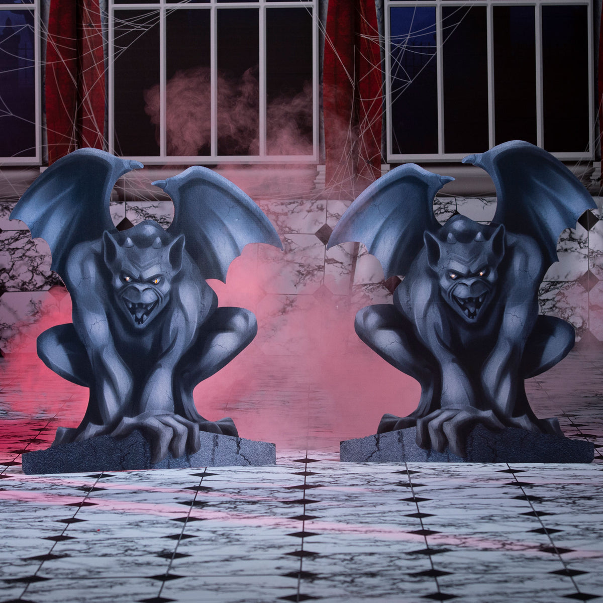 3 ft. 7 in. Gargoyle Standee Set