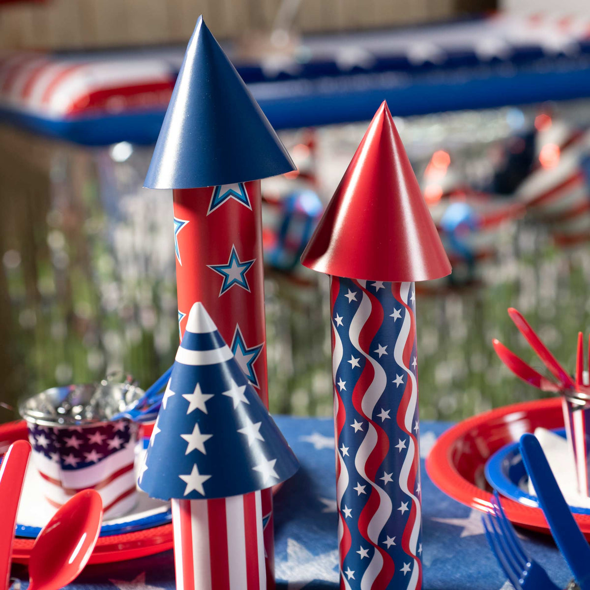 3D Firecracker Centerpiece