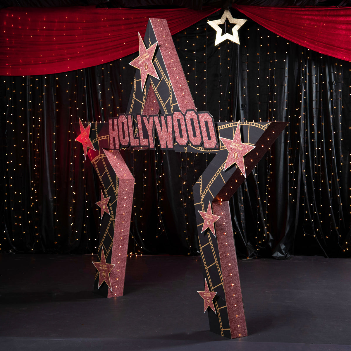 10 ft. 6 in. Hollywood Walk of Fame Arch