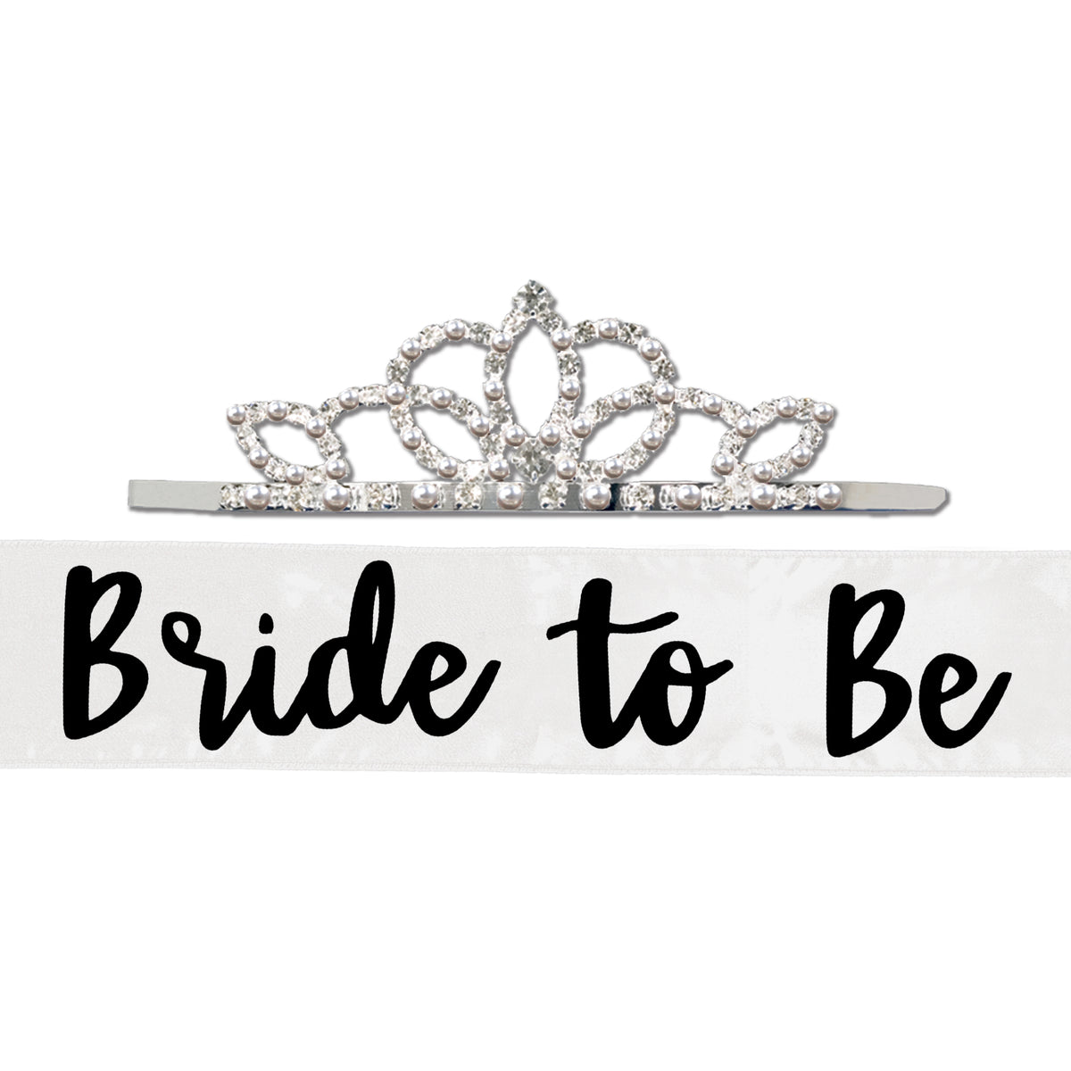 Bride to Be Sash with Tiara