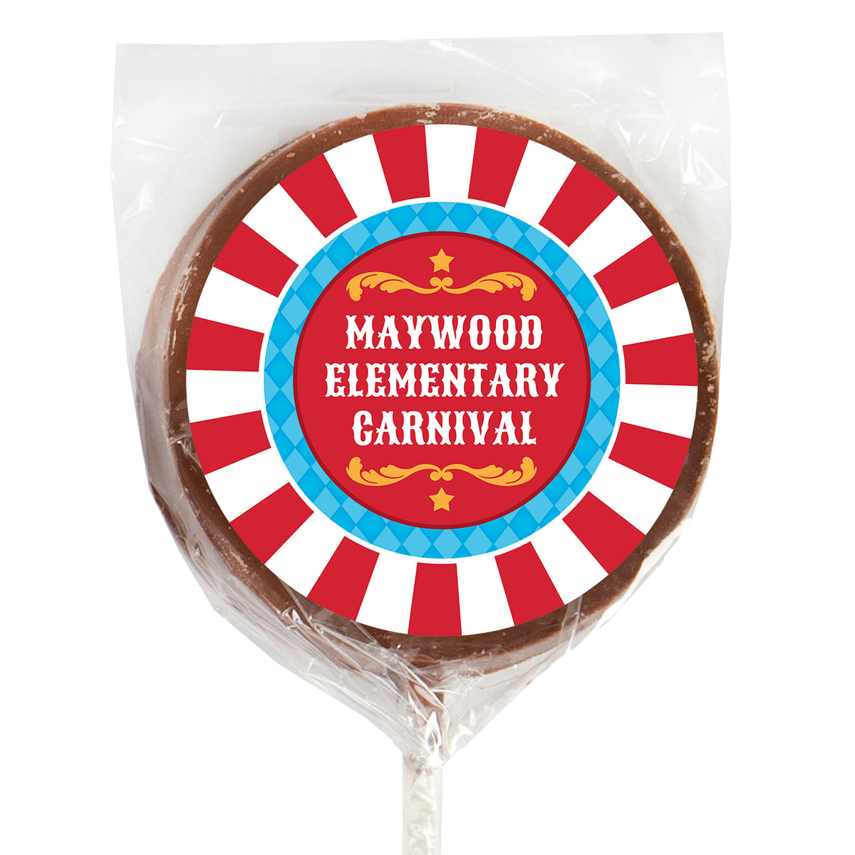 Carnival Spectacular Chocolate Lollipops