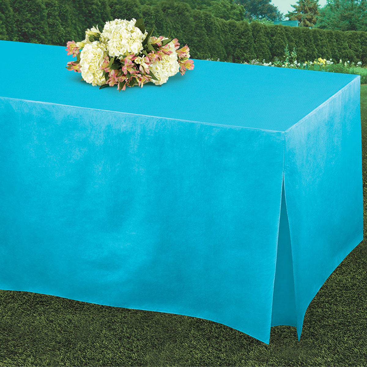 Caribbean Blue Tablefitters Table Cover