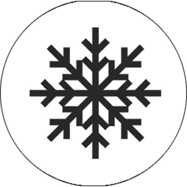 Snowflake Candy Stickers