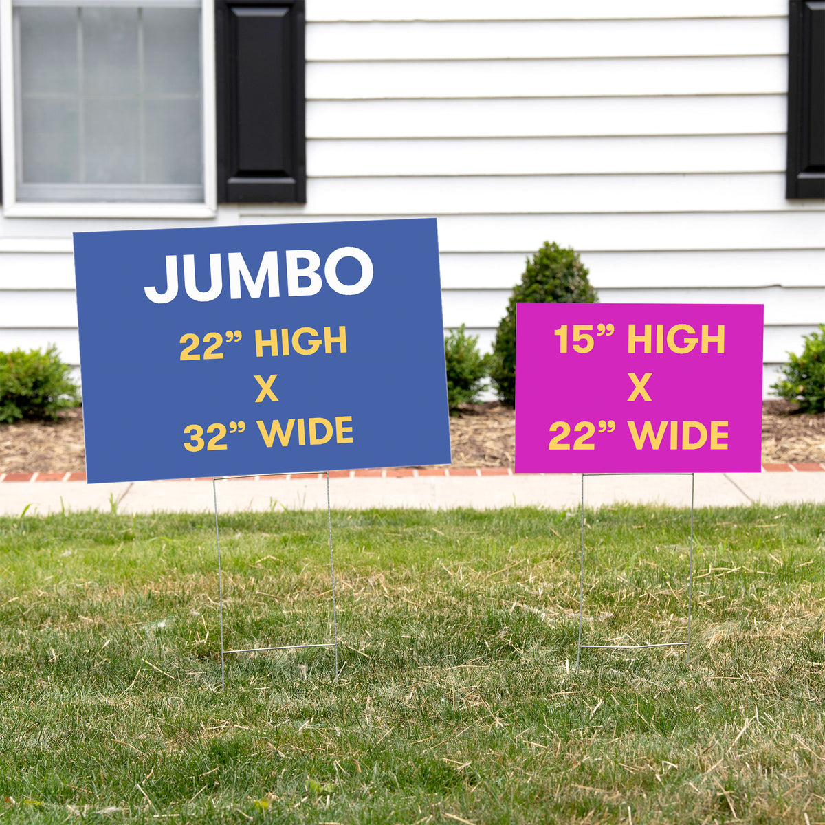 Back to School Personalized Yard Sign