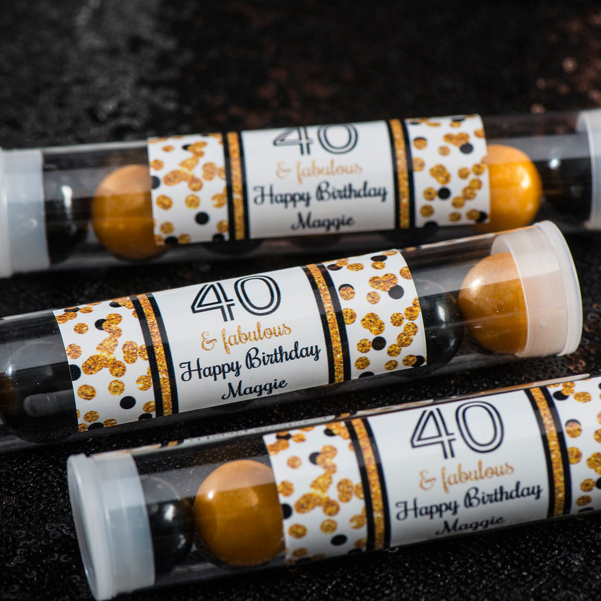 Blast Off Personalized Candy Tubes
