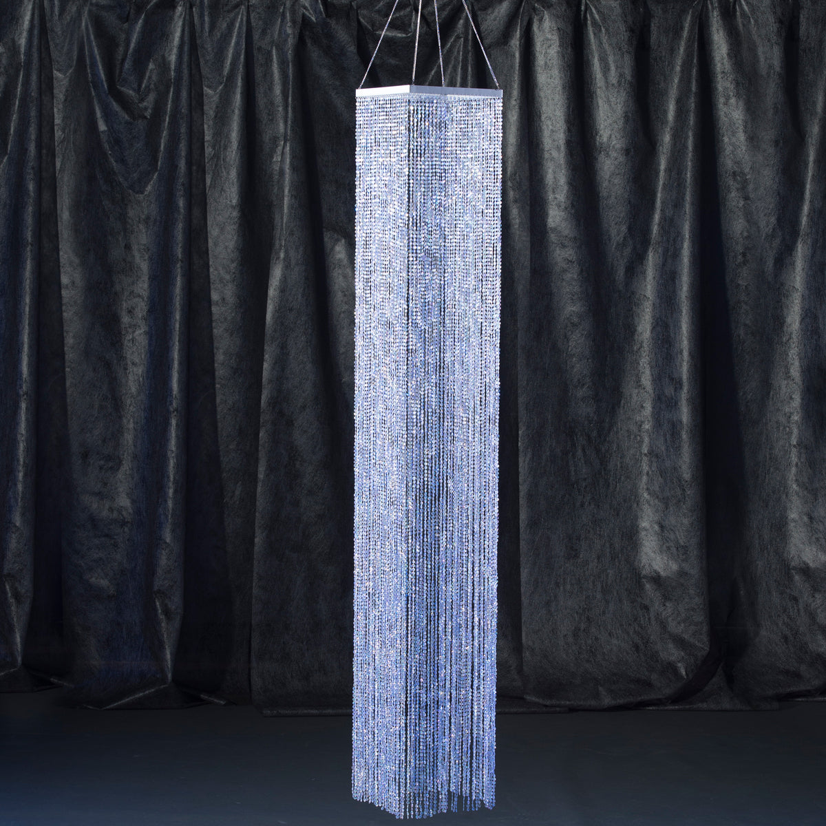 8 ft. Square Column Crystal Overlay