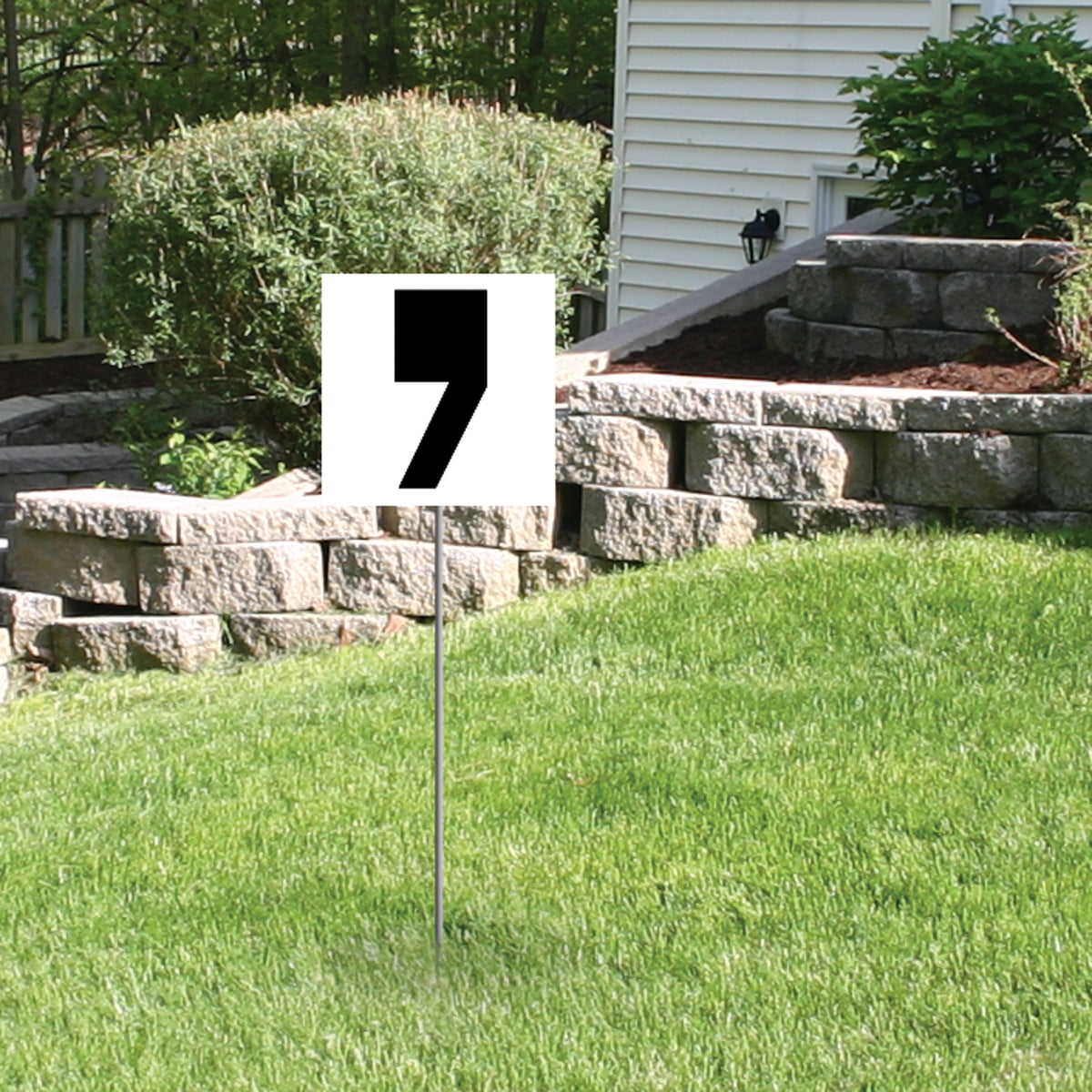 Black Yard Sign Expression Symbol Apostrophe