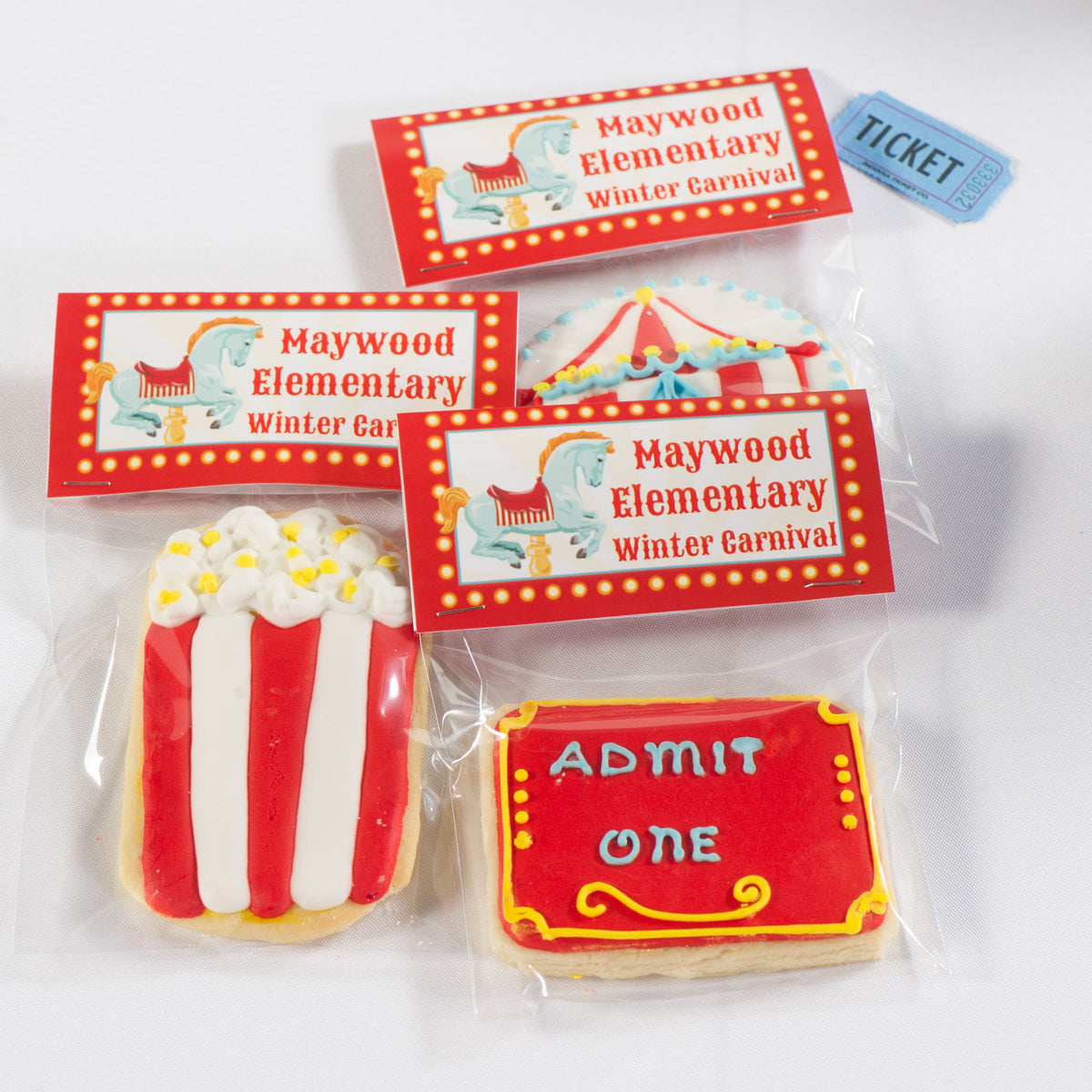 Carnival Spectacular Personalized Favor Bags