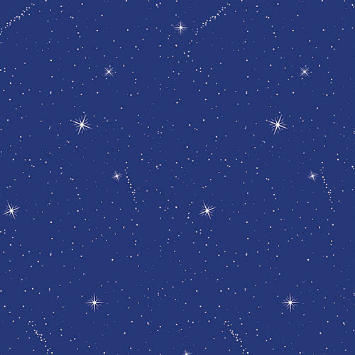 Night Sky Patterned Flat Paper