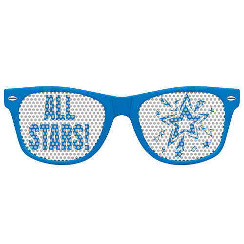 Blue Promotional Custom Sunglasses