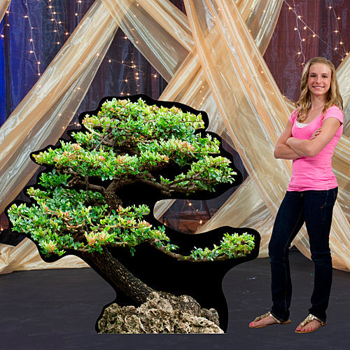 5 ft. Bonsai Tree Standee