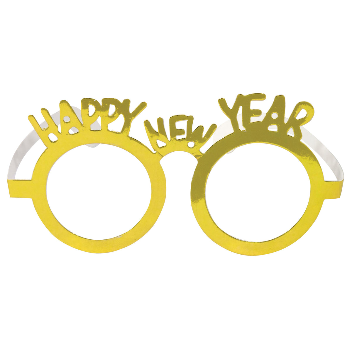 Happy New Year Paper Glasses