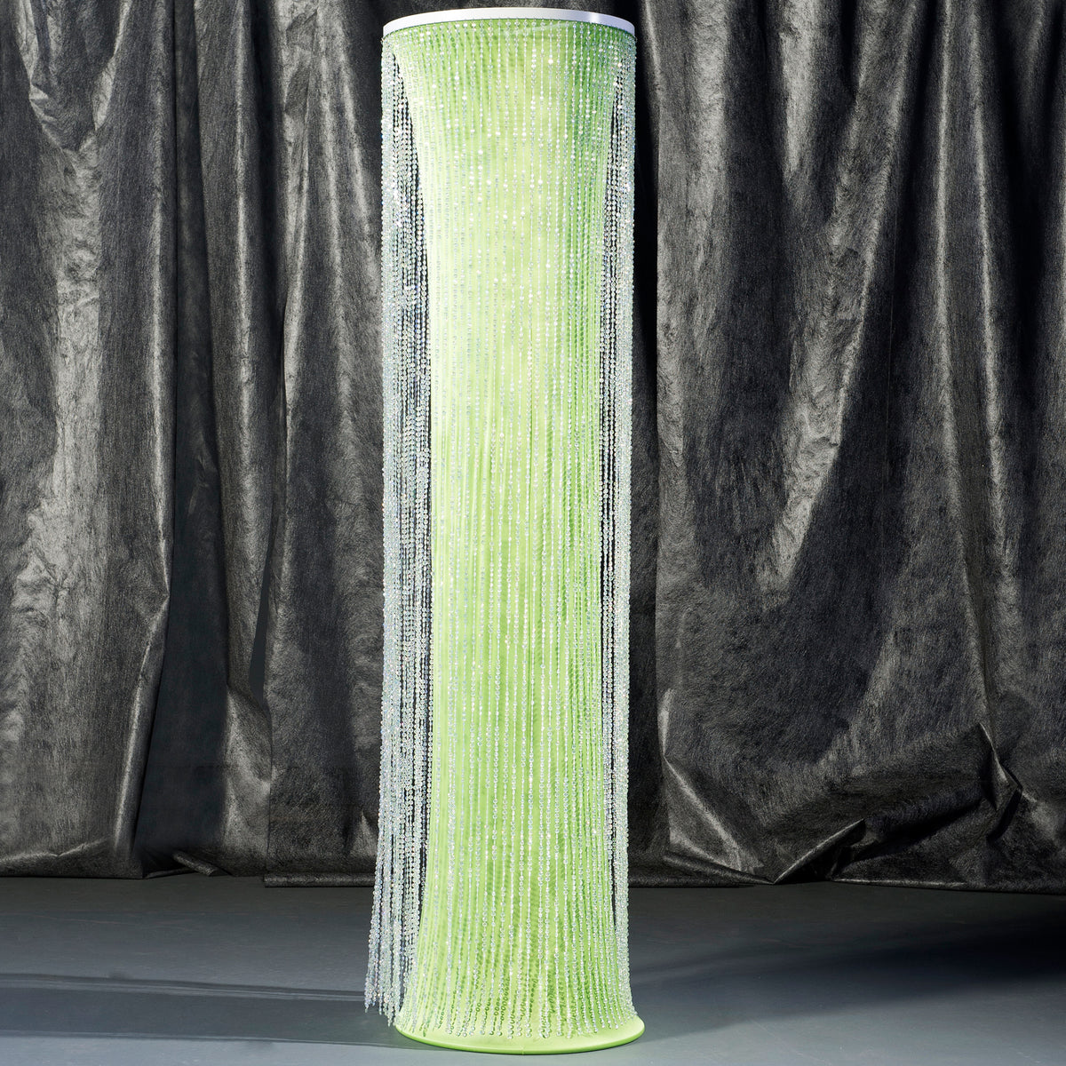 8 ft. Citrus Green Crystal Overlay Round Column