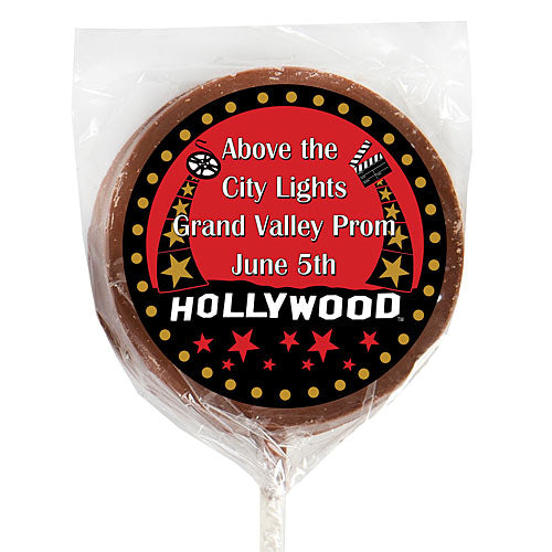Hollywood Stars Chocolate Lollipop