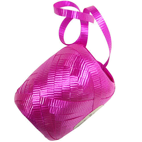 Cerise Metallic Curling Ribbon