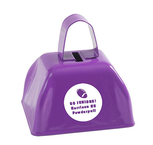 Purple Victory Cow Bell
