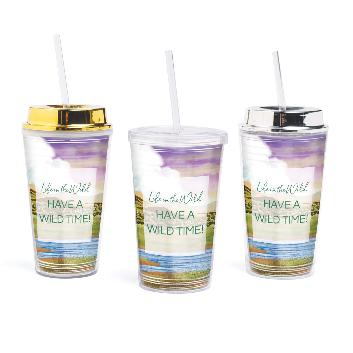 Life In The Wild Personalized Tumbler