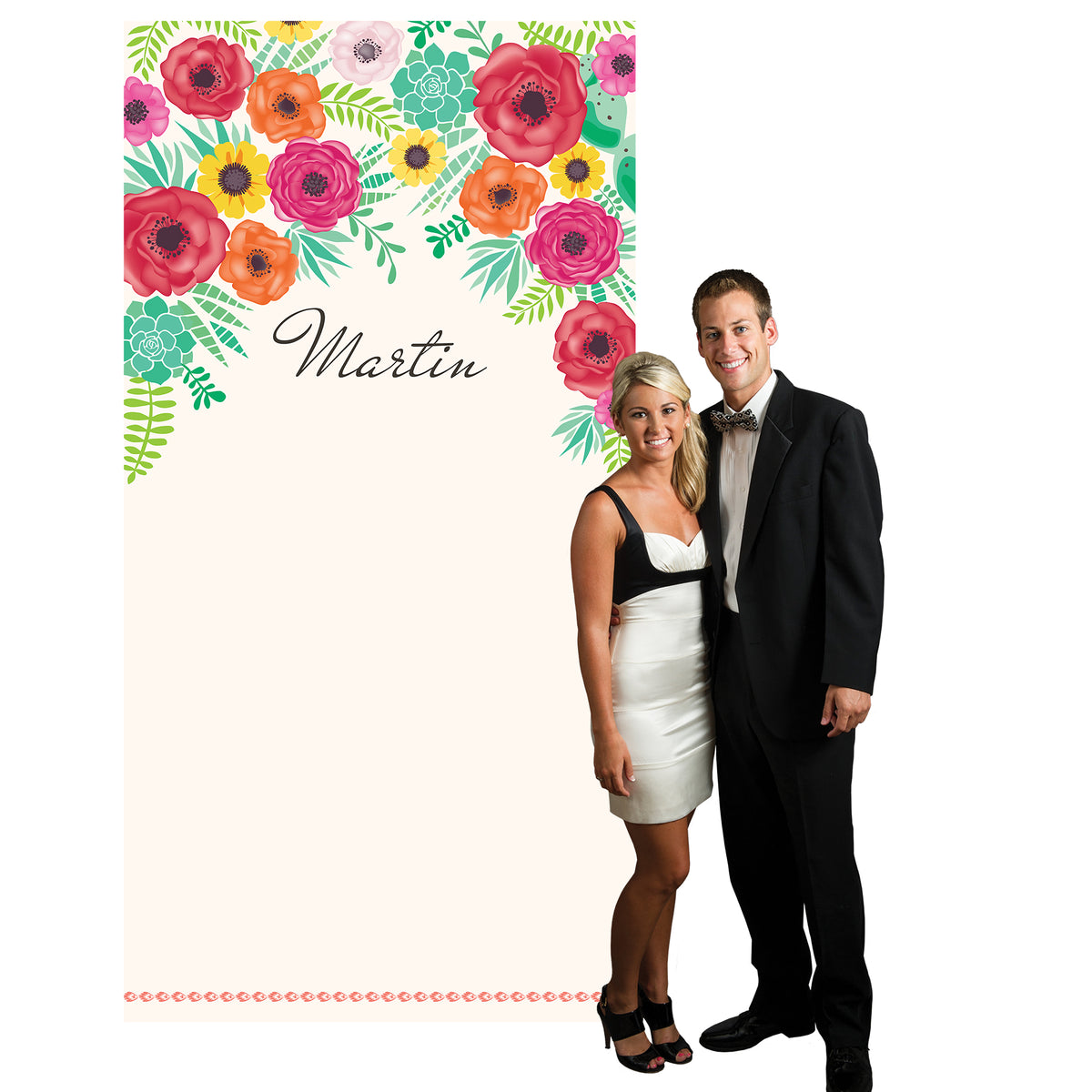 Forever Fiesta Personalized Photo Background