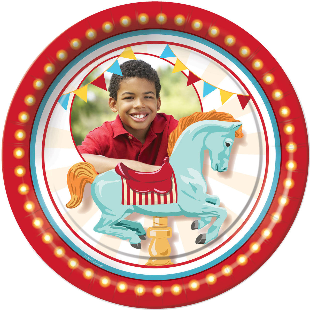 Carnival Spectacular Personalized Dinner Plates