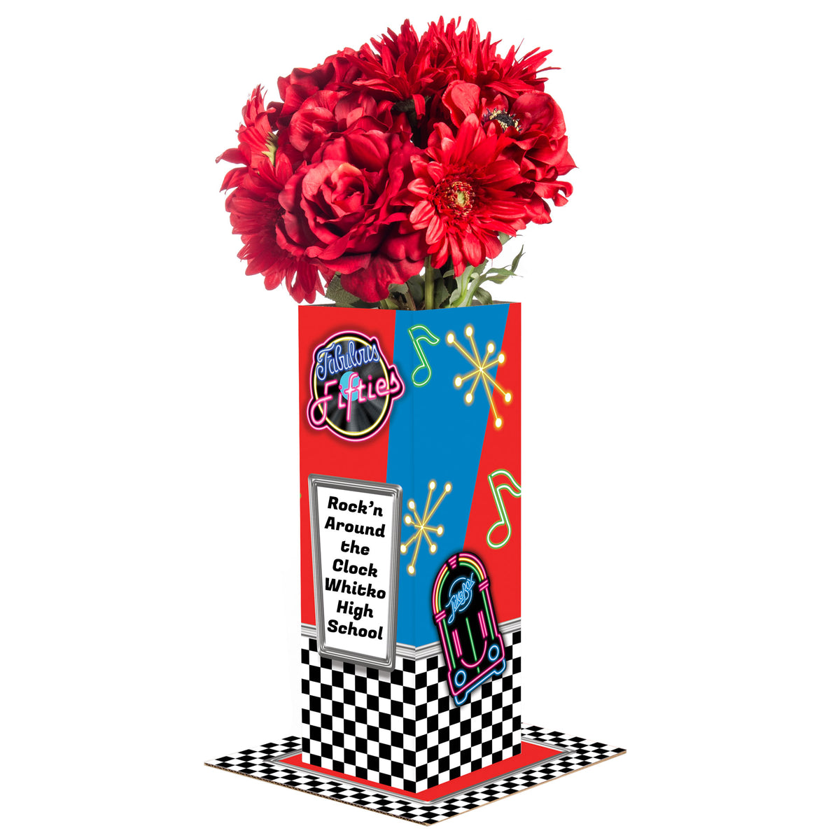 Fabulous Fifties Personalized Centerpiece