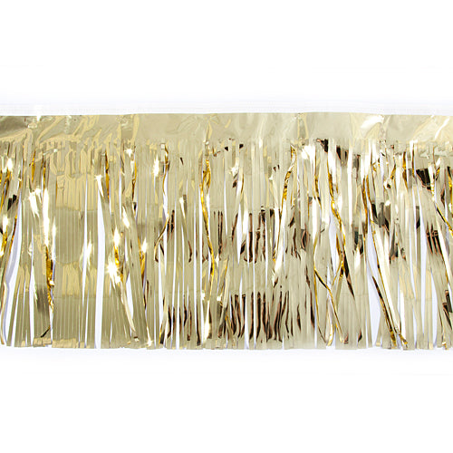 Gold Metallic Fringe
