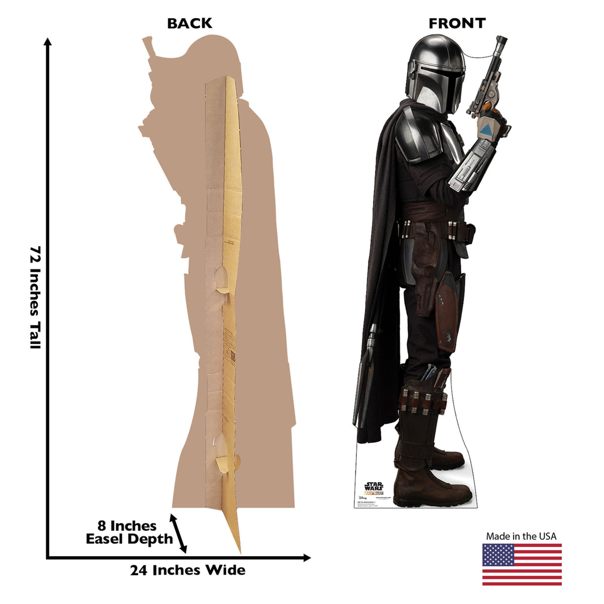 Star Wars: The Mandalorian 2 Standee