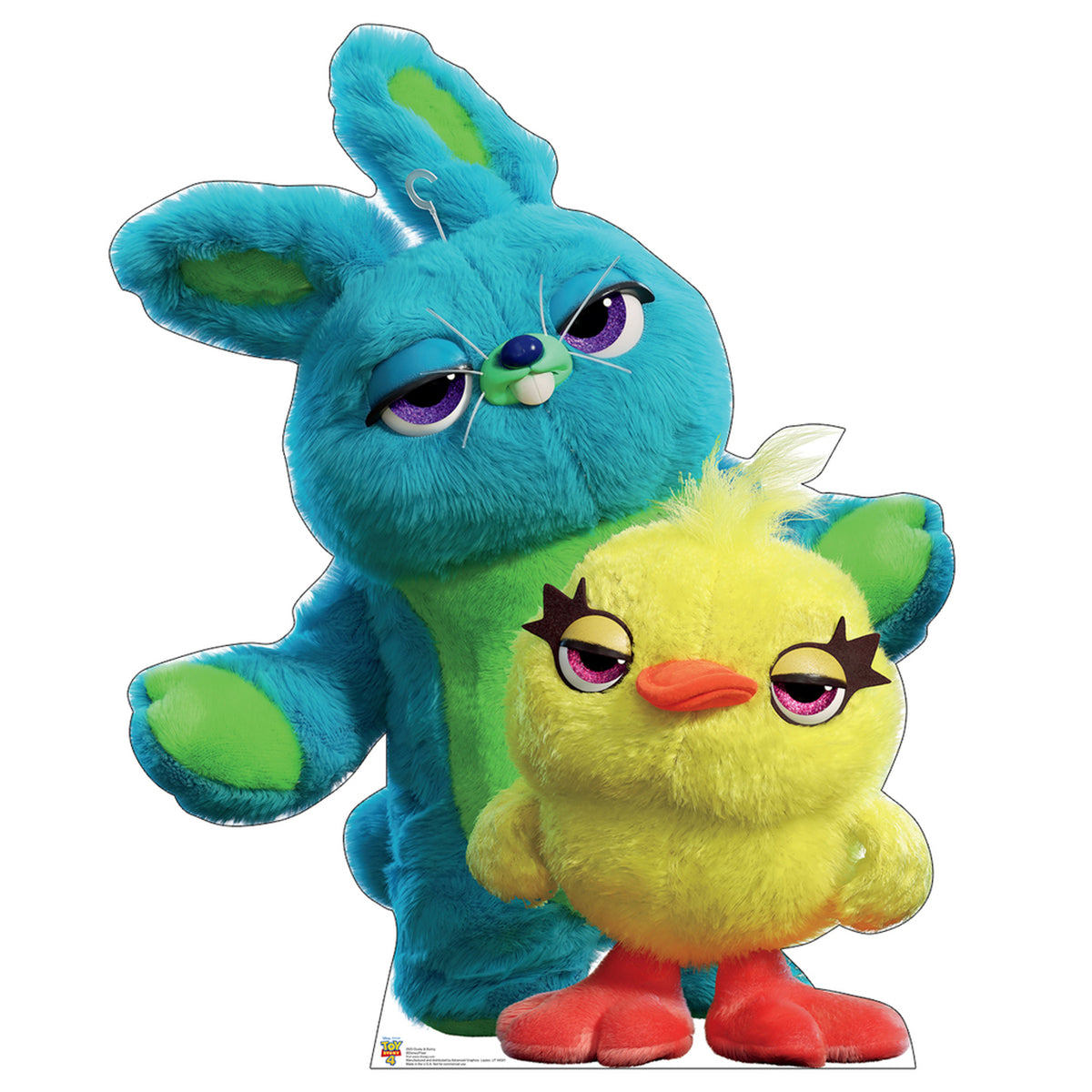 Toy Story 4 Ducky and Bunny Standee