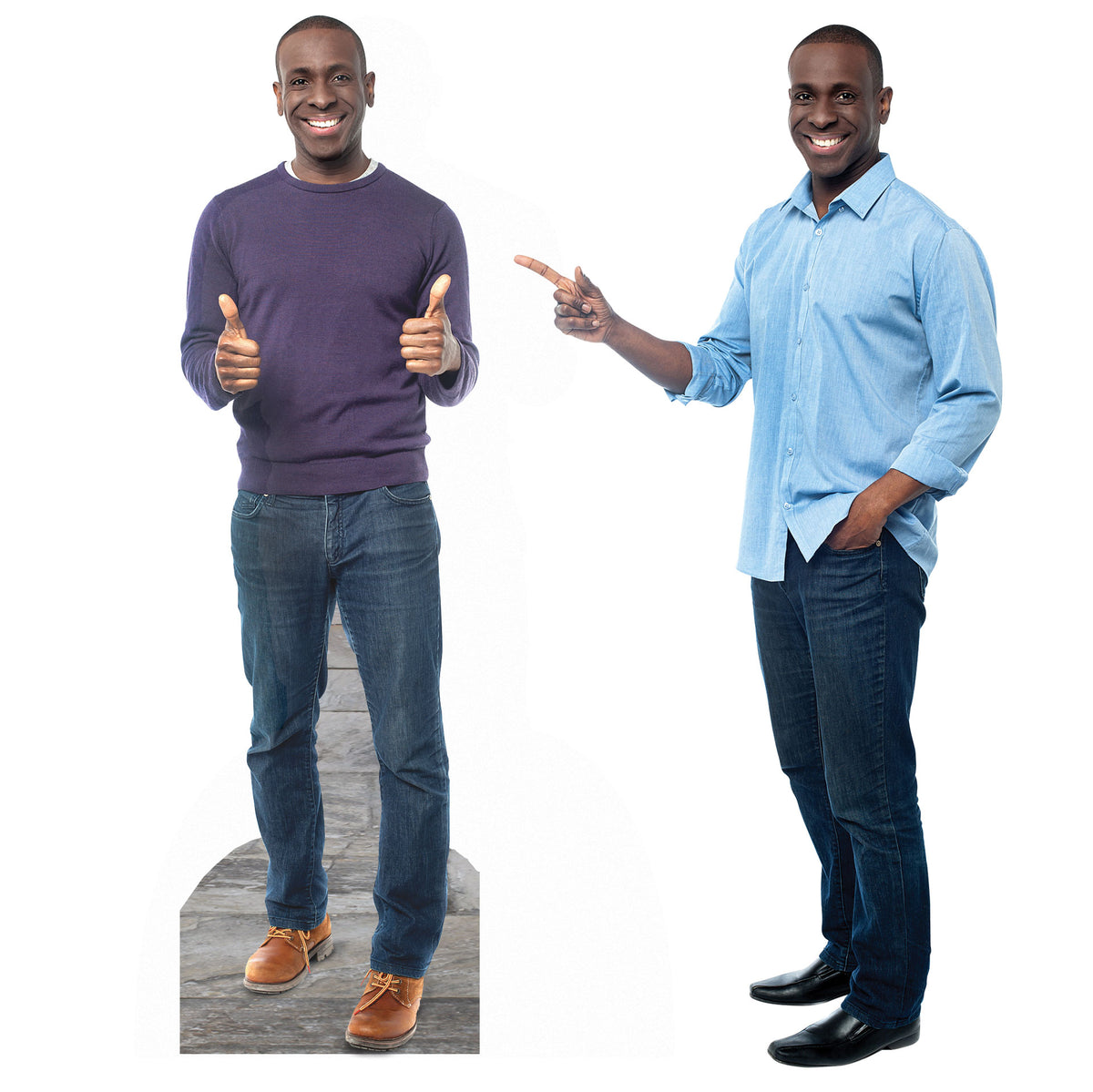 18 in. to 9 ft. 30th Birthday Select-a-Size Photo Standee