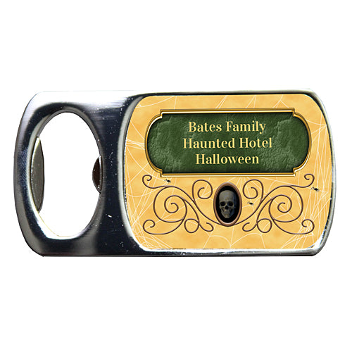 Haunted Hotel Custom Bottle Opener