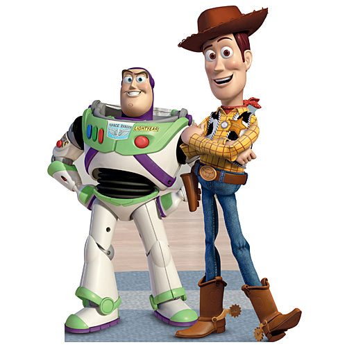 Toy Story Buzz & Woody Standee
