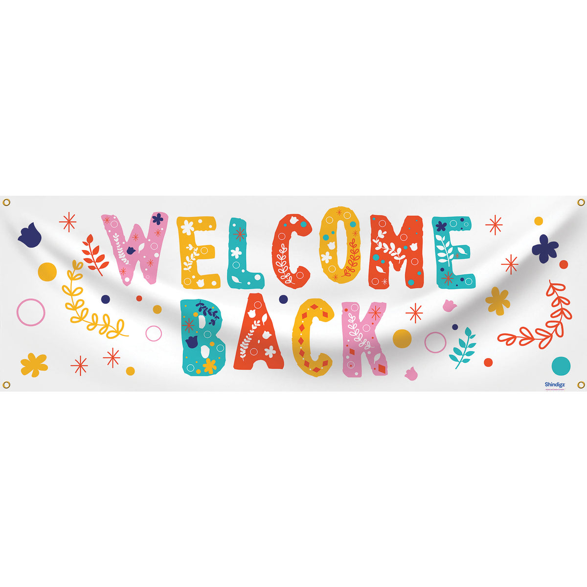 Happy Details Welcome Back Banner