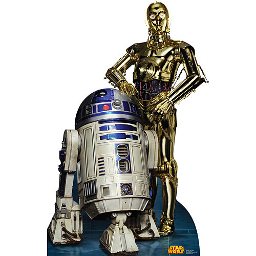 Classic R2-D2 & C-3PO Standee