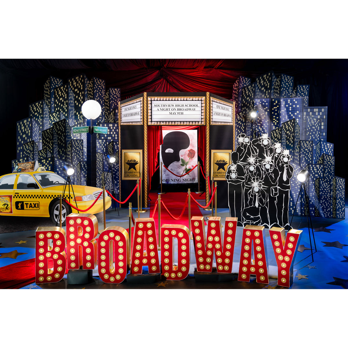 Bright Lights on Broadway Theme Kit