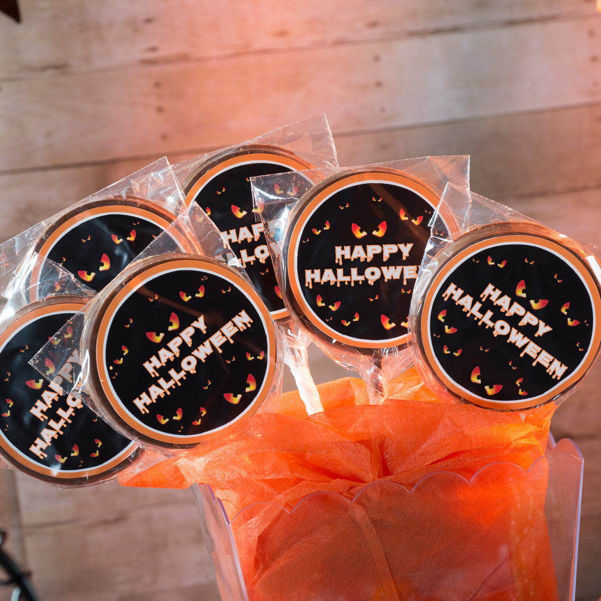 Photo Custom Chocolate Lollipops