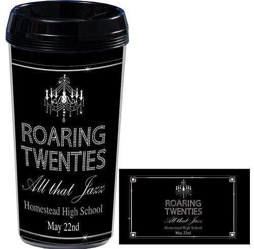 Roaring Twenties Travel Mugs