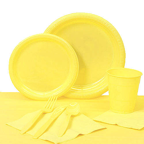 Mimosa Plastic Tableware Set for 20