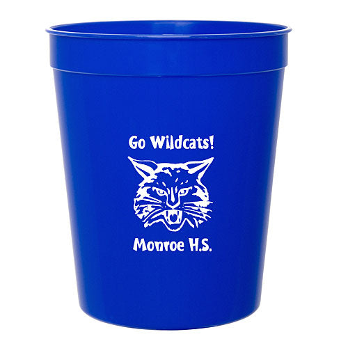Royal Blue 16 ounce Smooth Stadium Cup