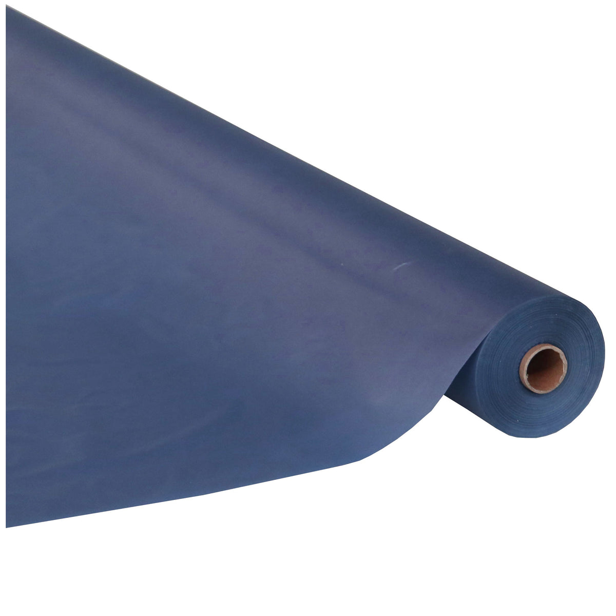 Navy Blue 250 Feet Plastic Table Cover Roll